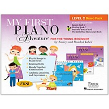Faber Piano Adventures My First Piano Adventure Level C Bravo Pack - For The Young Beginner