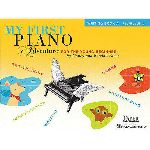 Faber Piano Adventures My First Piano Adventure Writing Book A Pre-Reading thumbnail