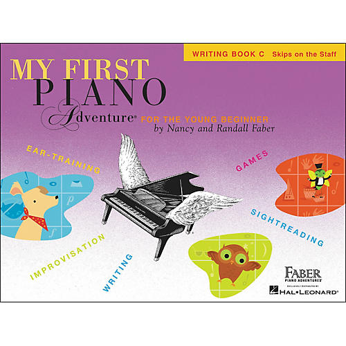 Faber Piano Adventures My First Piano Adventure Writing Book C (Skips On The Staff) - Faber Piano thumbnail