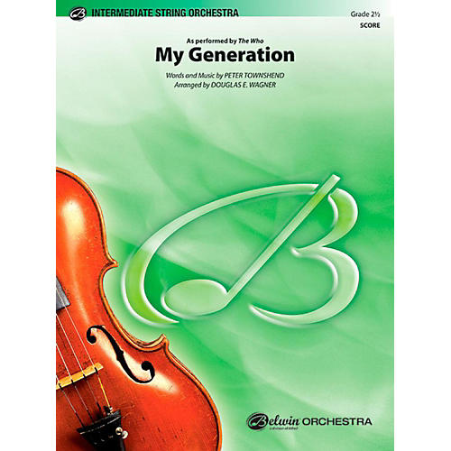 Alfred My Generation String Orchestra Level 2.5 Set thumbnail