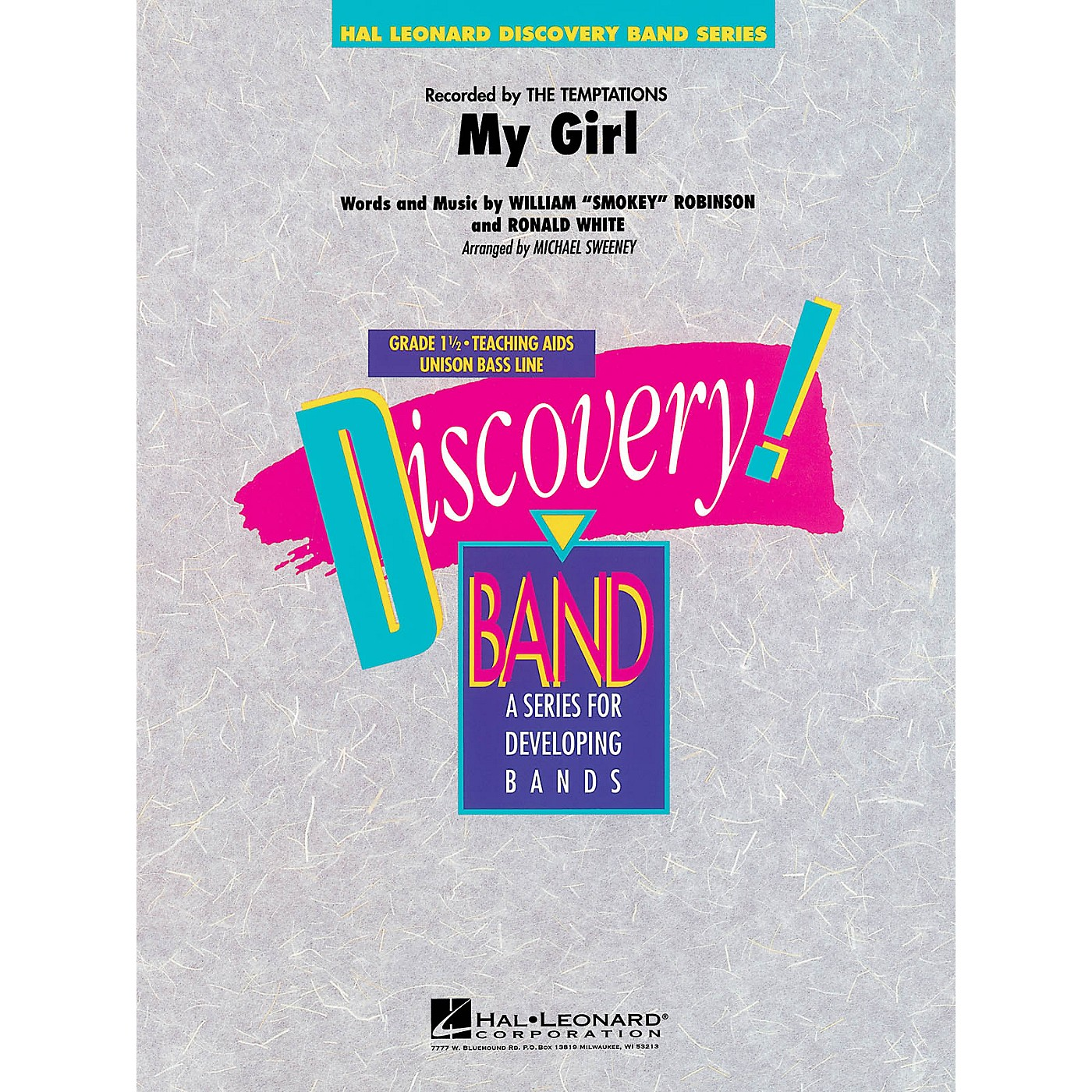 Hal Leonard My Girl Concert Band Level 1.5 by The Temptations Arranged by Michael Sweeney thumbnail