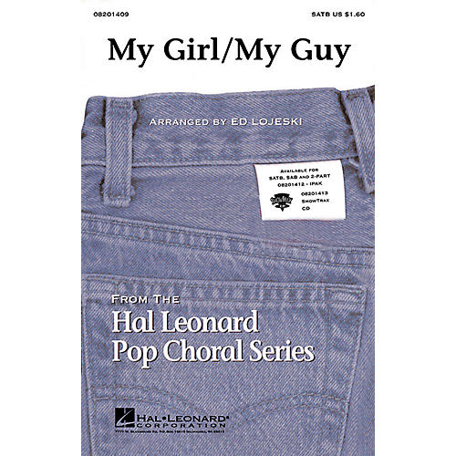 Hal Leonard My Girl/My Guy ShowTrax CD Arranged by Ed Lojeski thumbnail