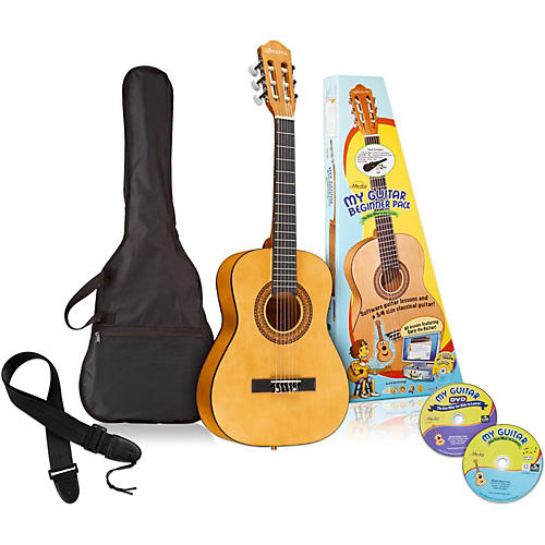 Emedia My Guitar 3/4 Nylon-String Beginner Acoustic Guitar Pack thumbnail