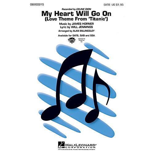 Hal Leonard My Heart Will Go On (from Titanic) ShowTrax CD by Celine Dion Arranged by Alan Billingsley thumbnail