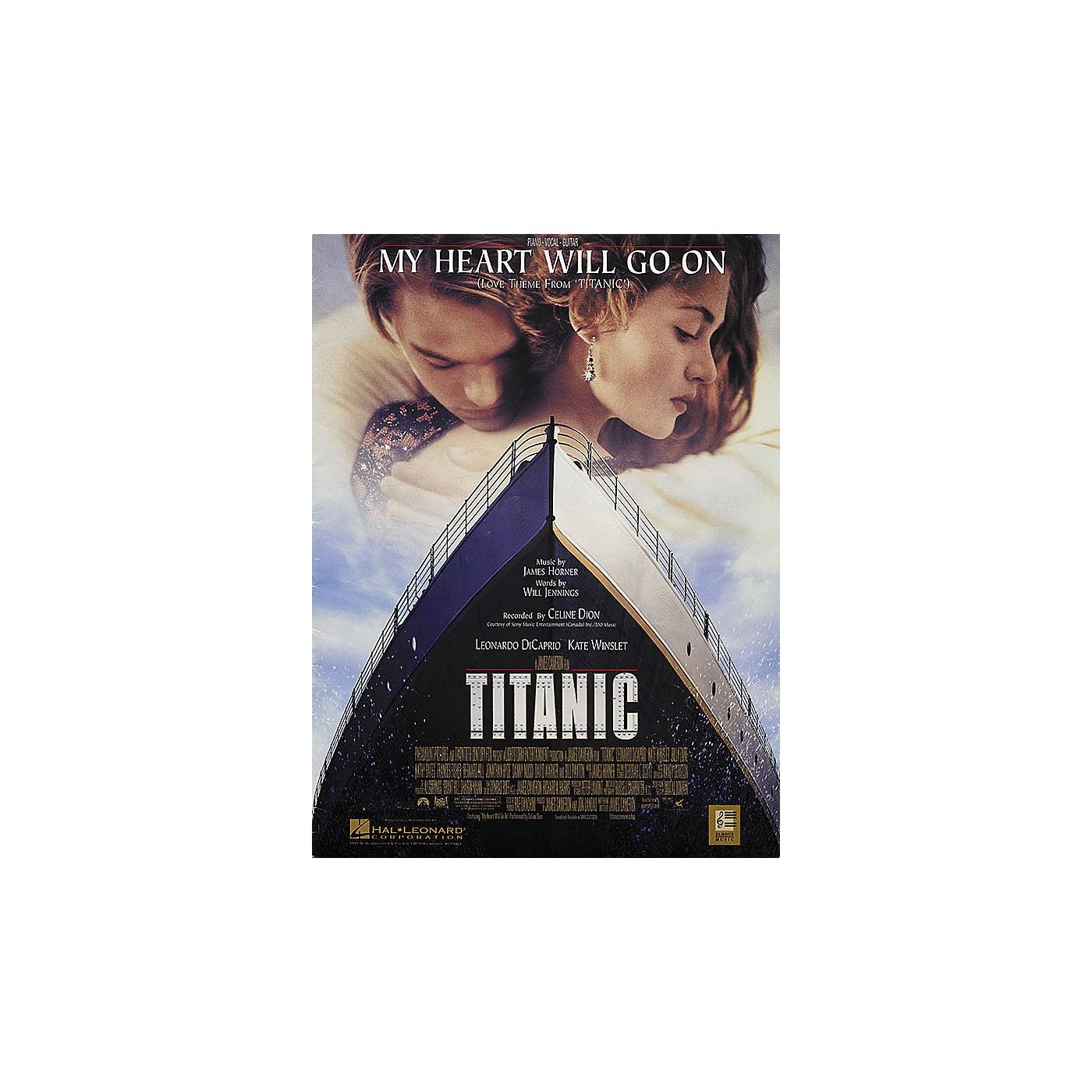 Hal Leonard My Heart Will Go on (Love Theme From Titanic) thumbnail