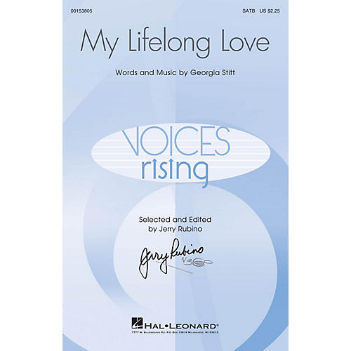 Hal Leonard My Lifelong Love SATB composed by Georgia Stitt thumbnail