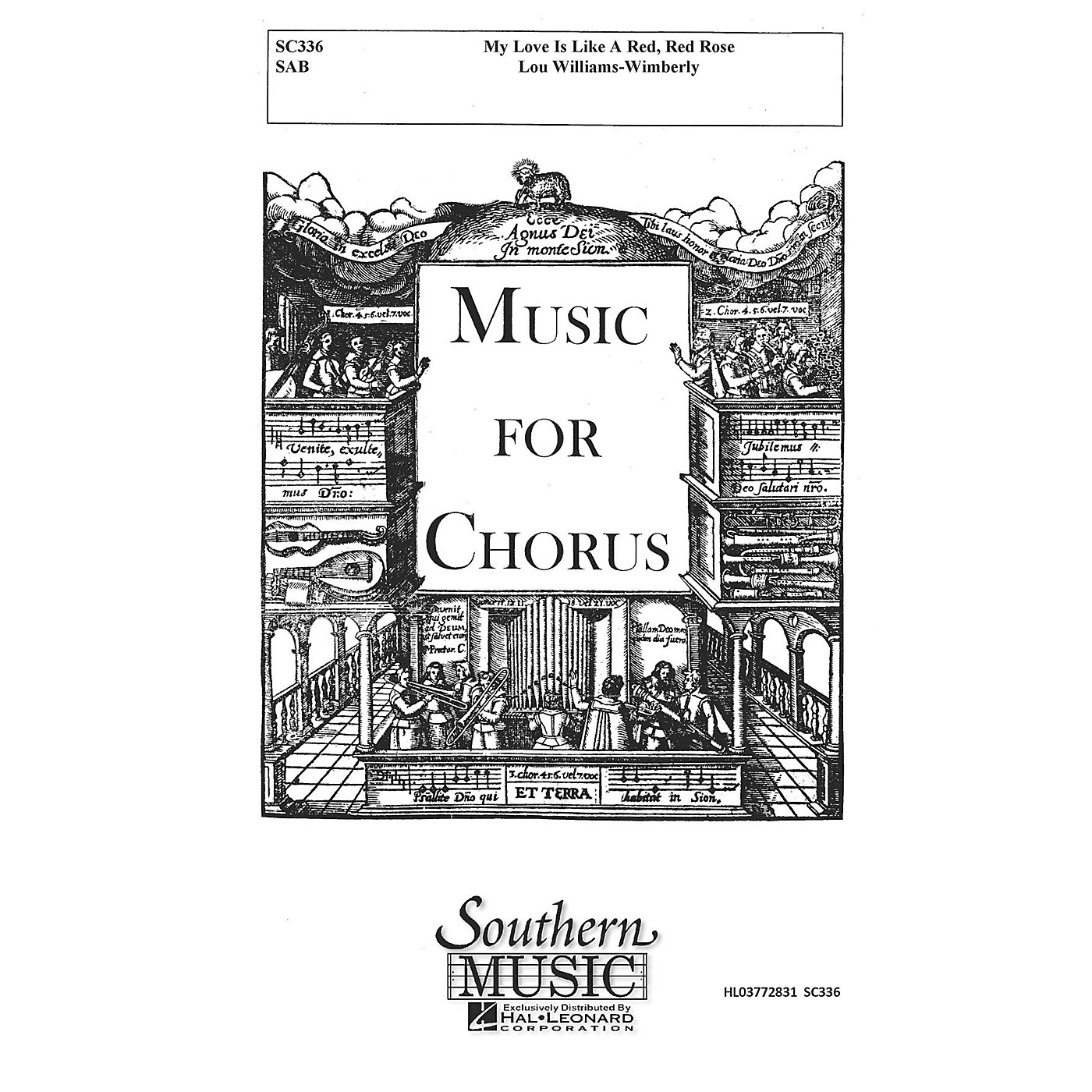 Hal Leonard My Love Is like a Red, Red Rose (Choral Music/Octavo Secular Sab) SAB Composed by Williams-wimberly, Lou thumbnail