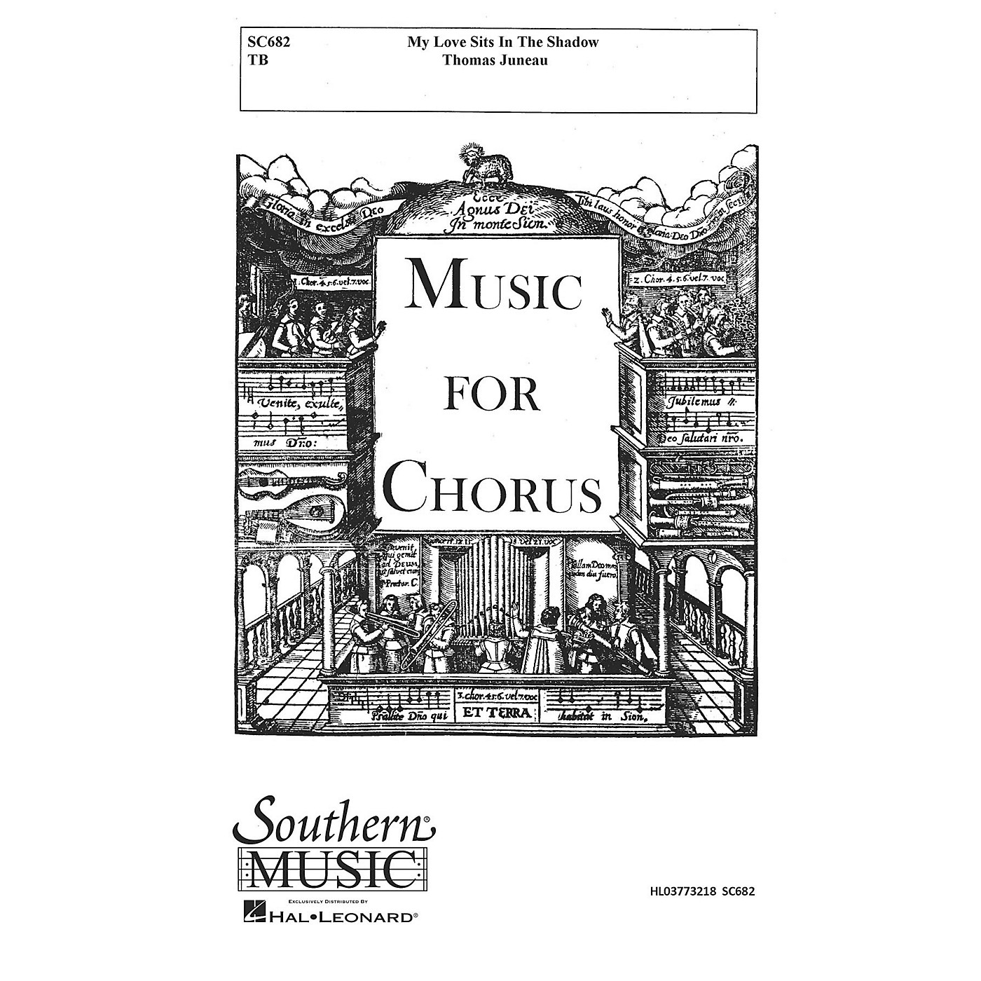 Hal Leonard My Love Sits In The Shadow (Choral Music/Octavo Secular 2-par) TB Composed by Juneau, Thomas thumbnail
