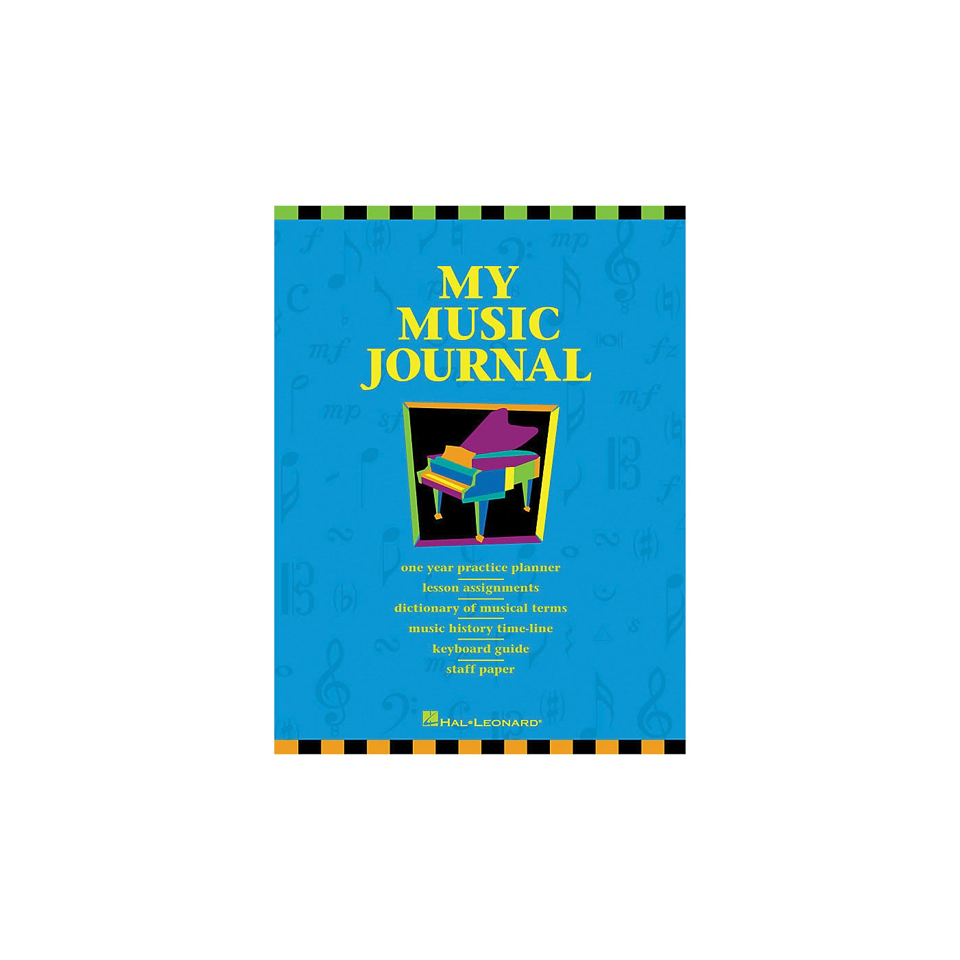 Hal Leonard My Music Journal Student Assignment Book HLSPL thumbnail