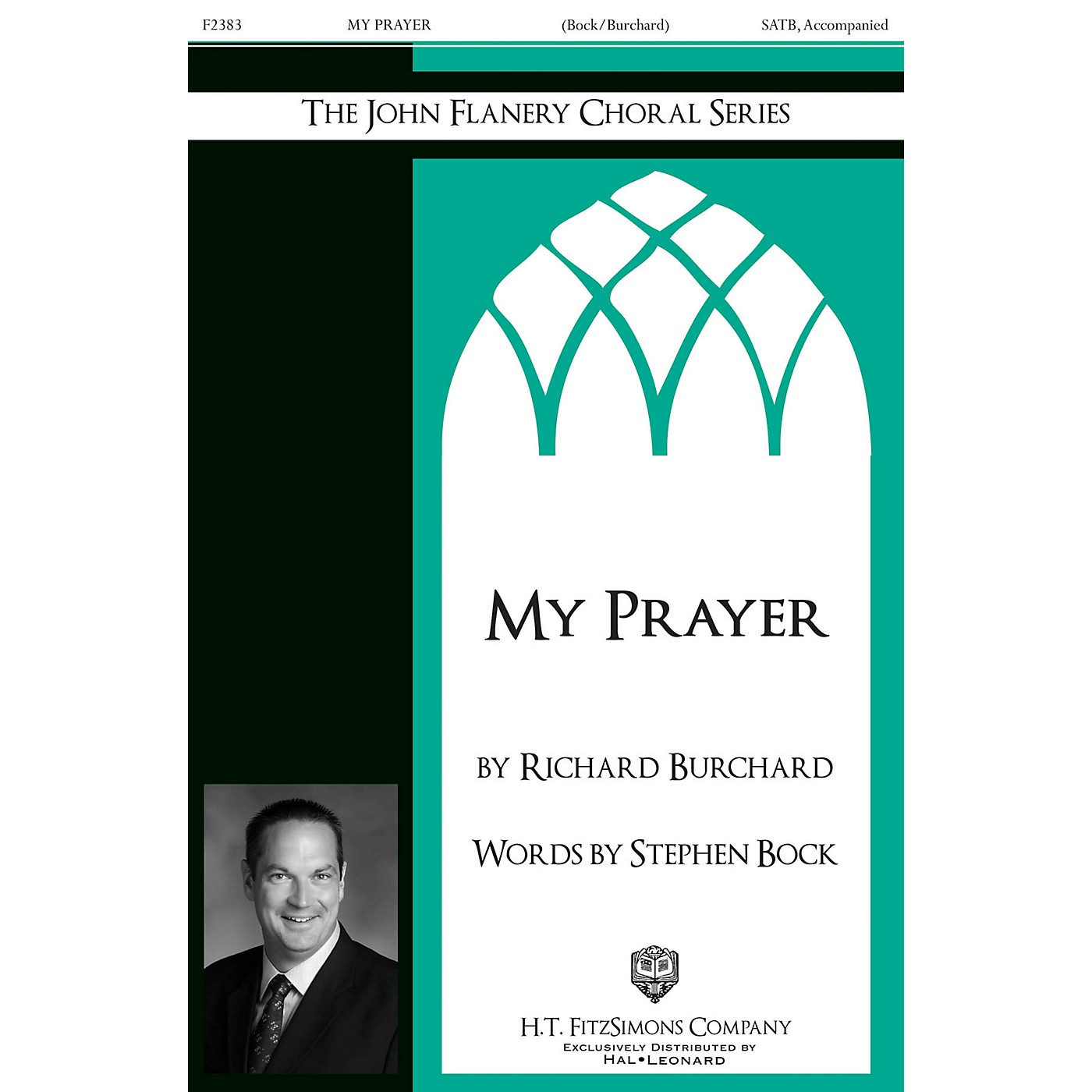 H.T. FitzSimons Company My Prayer SATB composed by Richard Burchard thumbnail