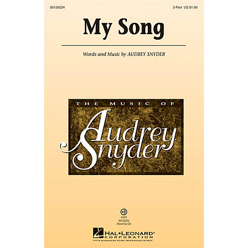 Hal Leonard My Song 2-Part composed by Audrey Snyder thumbnail