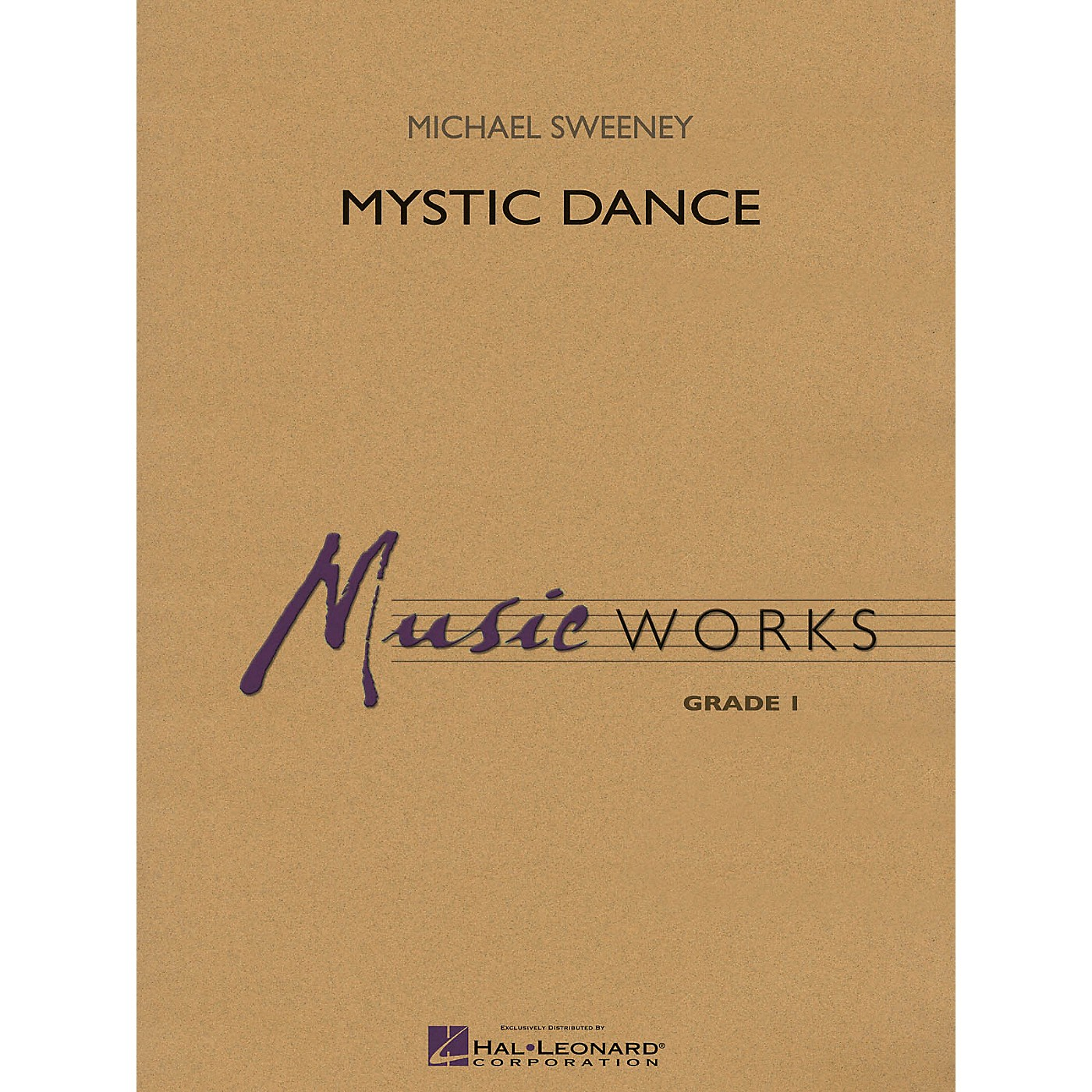 Hal Leonard Mystic Dance Concert Band Level 1.5 Composed by Michael Sweeney thumbnail