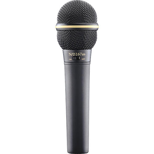 Electro-Voice N D267AS Dynamic Microphone with On Off Switch thumbnail