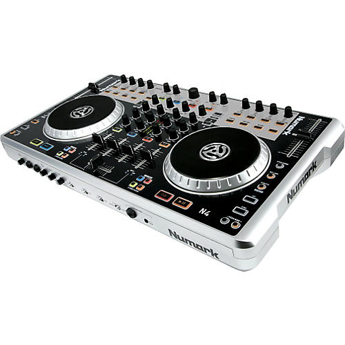 Numark N4 4-Deck Digital DJ Controller and Mixer-thumbnail