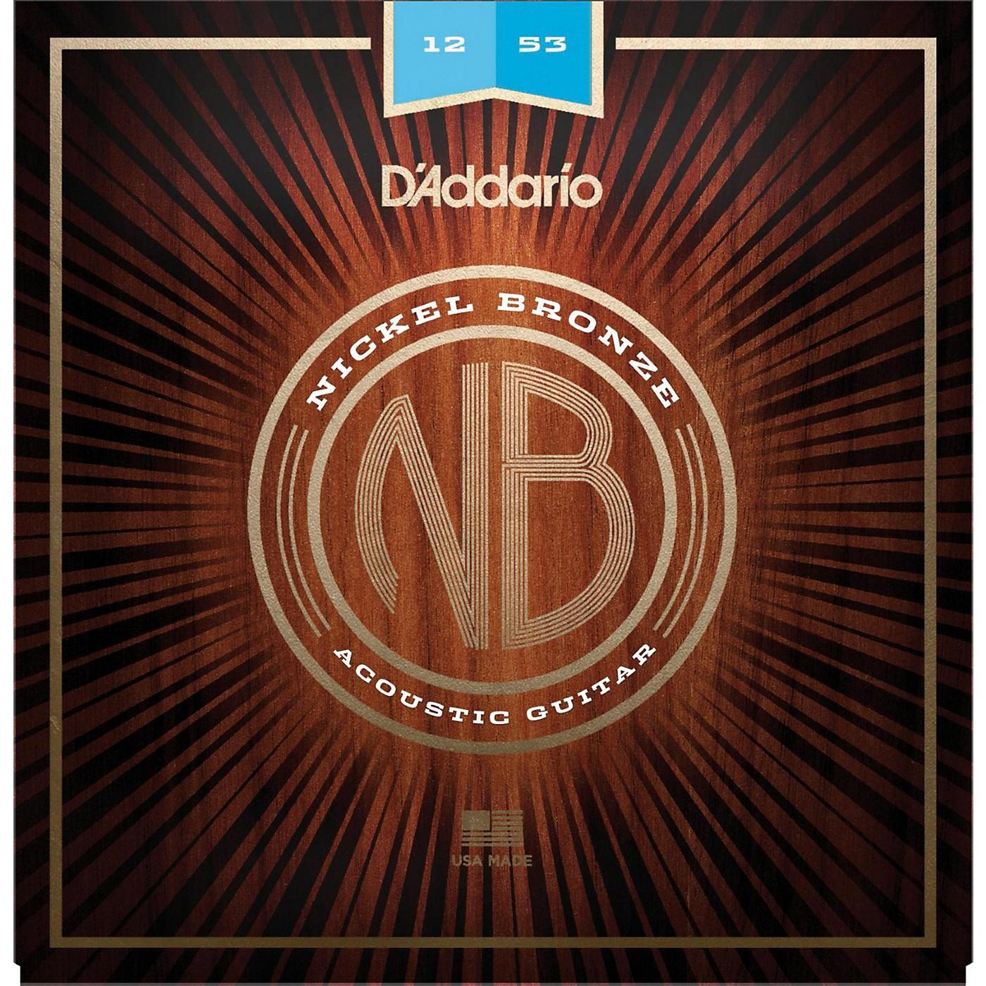 D'Addario NB1253 Nickel Bronze Light Acoustic Strings thumbnail