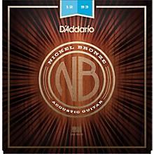 D'Addario NB1253 Nickel Bronze Light Acoustic Strings