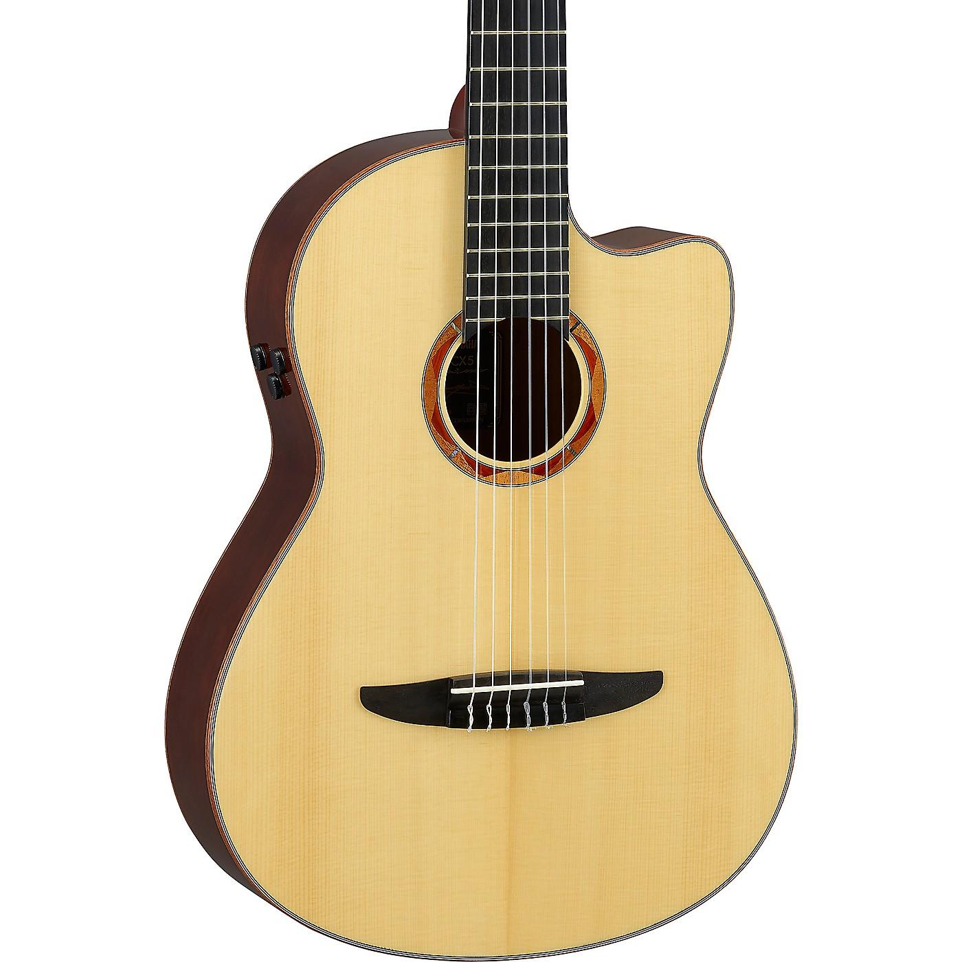 Yamaha NCX5 Acoustic-Electric Classical Guitar thumbnail