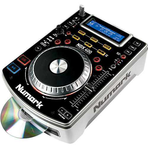 Numark NDX400 Tabletop Scratch CD Player thumbnail