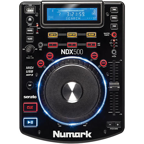 Numark NDX500 USB/CD Media Player and Software Controller thumbnail