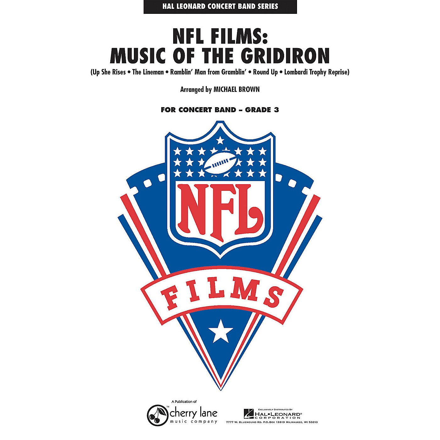 Cherry Lane NFL Films: Music of the Gridiron - Young Concert Band Level 3 by Michael Brown thumbnail
