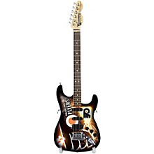 Woodrow Guitars NHL 10 Inch Mini Guitar Collectible