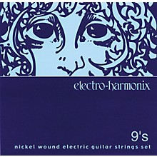 Electro-Harmonix NIC9 Nickel Wound Ultra Light Electric Guitar Strings