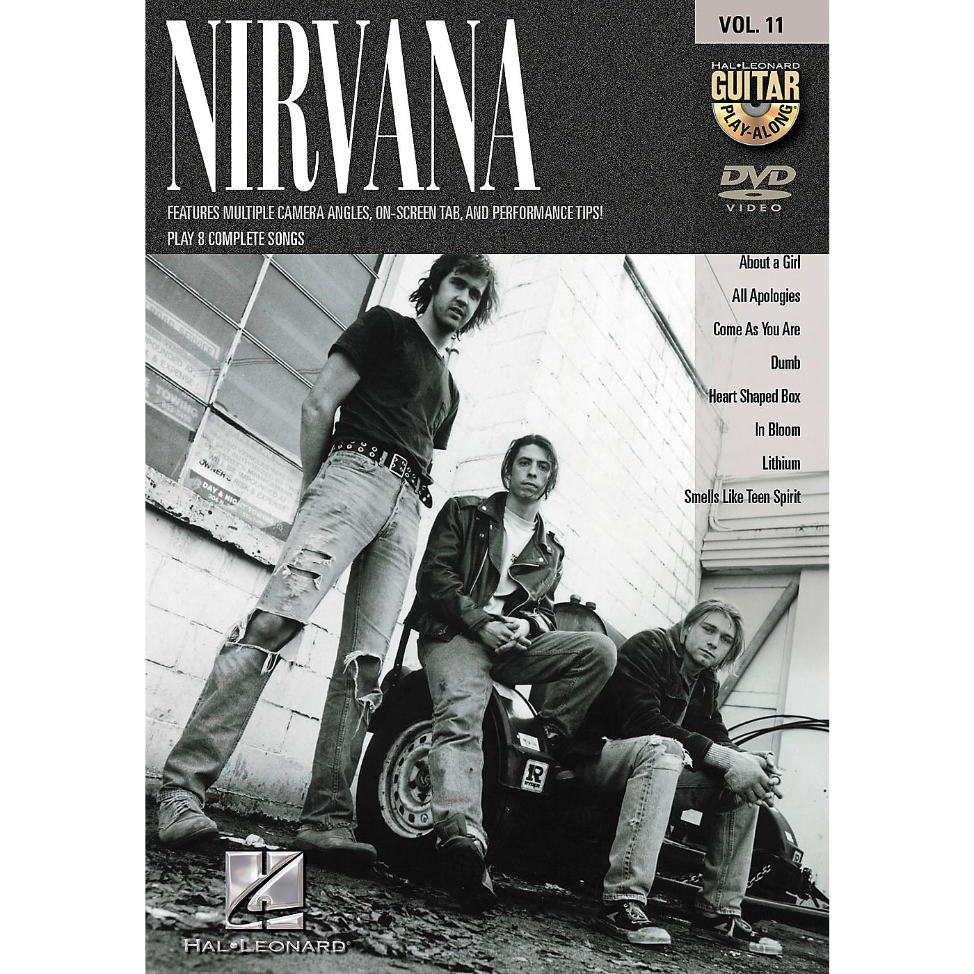 Hal Leonard NIRVANA - GUITAR PLAY-ALONG SERIES ON DVD VOLUME 11 thumbnail
