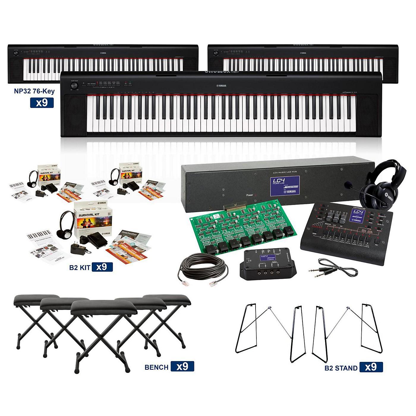 Yamaha NP-32 76-Key Piaggero LC4 Keyboard Lab thumbnail
