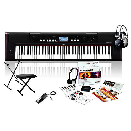 Yamaha NP-V80 with M80 MkII, Bench, Stand & Sustain Pedal thumbnail