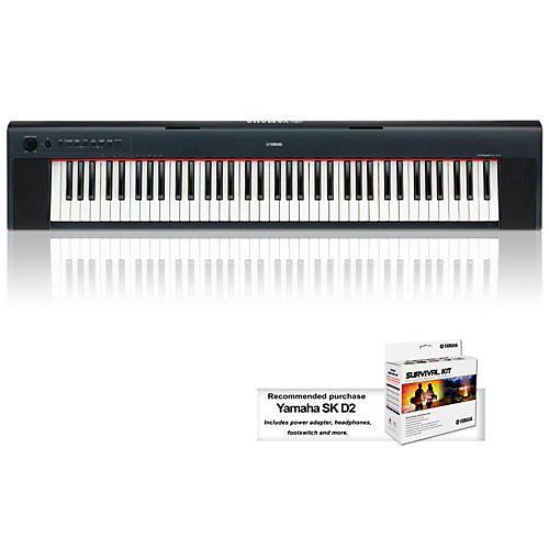 Yamaha NP31 76-Key Mid-Level Piaggero Ultra-Portable Digital Piano-thumbnail