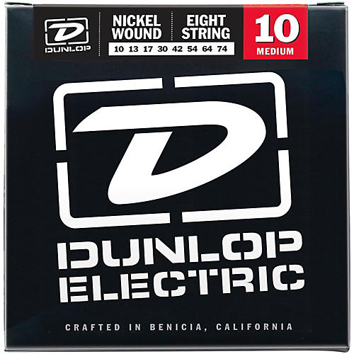 Dunlop NPS 8-string Electric Guitar Strings (10-74) thumbnail