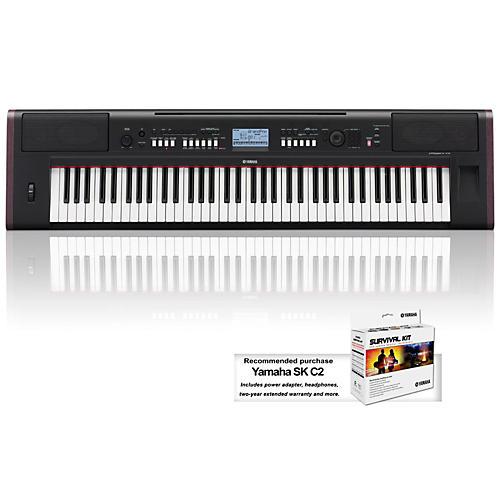 Yamaha NPv80 76-Key High-Level Piaggero Ultra-Portable Digital Piano-thumbnail