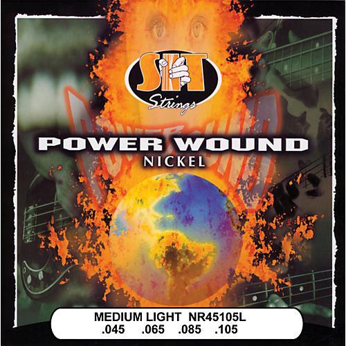 SIT Strings NR45105L Medium Light Power Wound Nickel Bass Strings-thumbnail