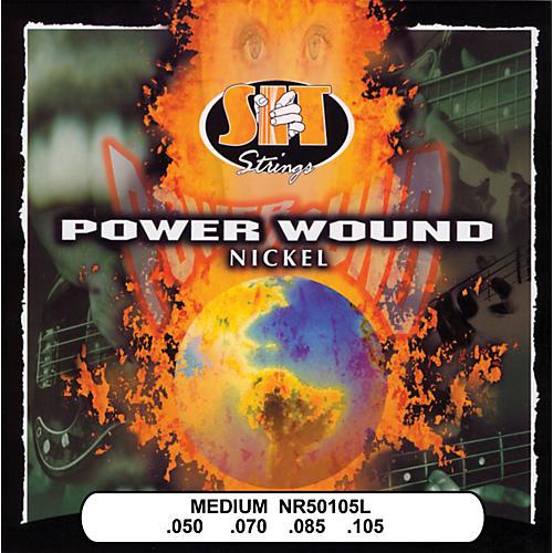 SIT Strings NR50105L Medium Power Wound Nickel Bass Strings-thumbnail