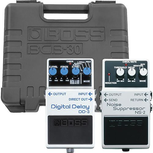 Boss NS-2/DD-3 Pedals with BCB-30 Pedal Board thumbnail