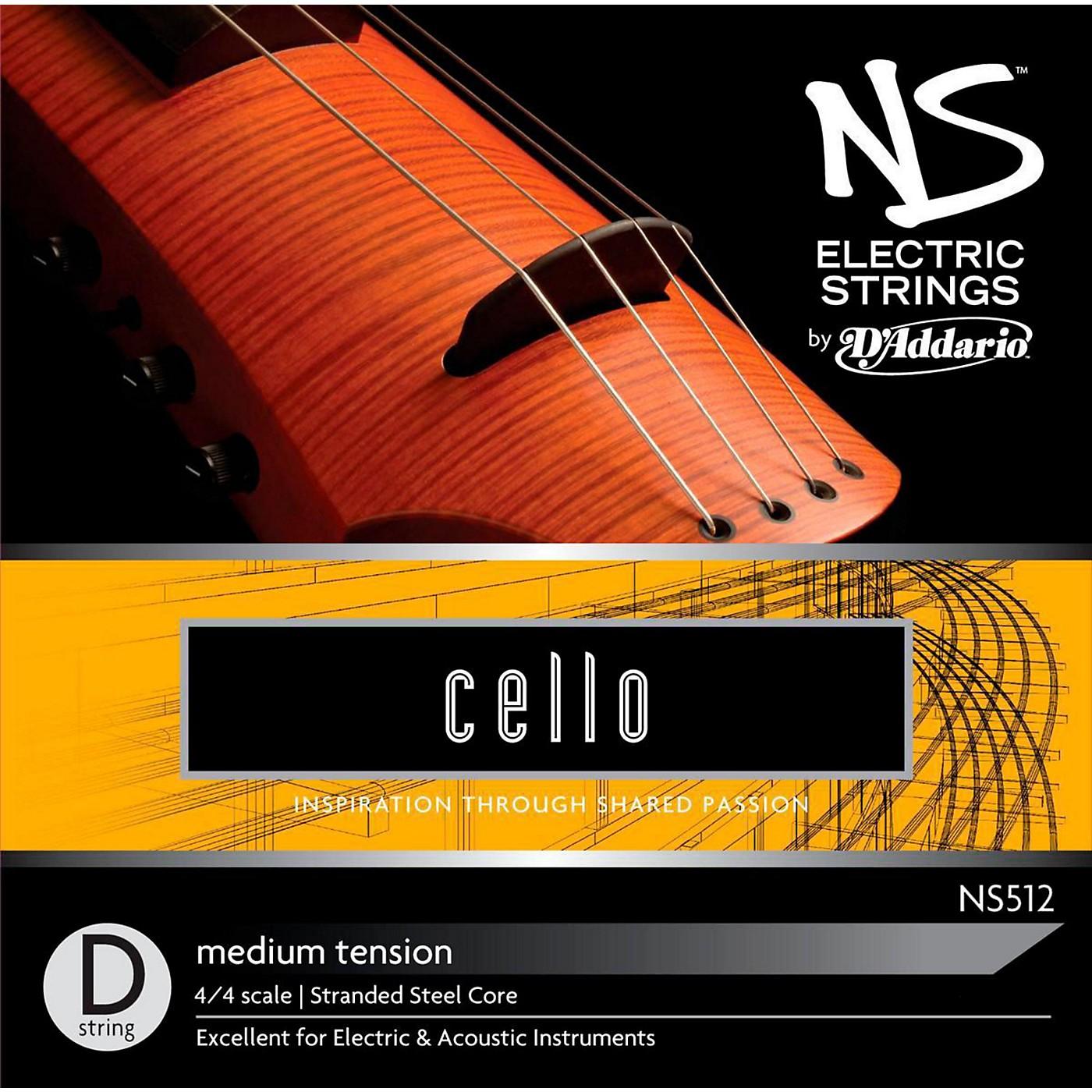 D'Addario NS Electric Cello D String thumbnail