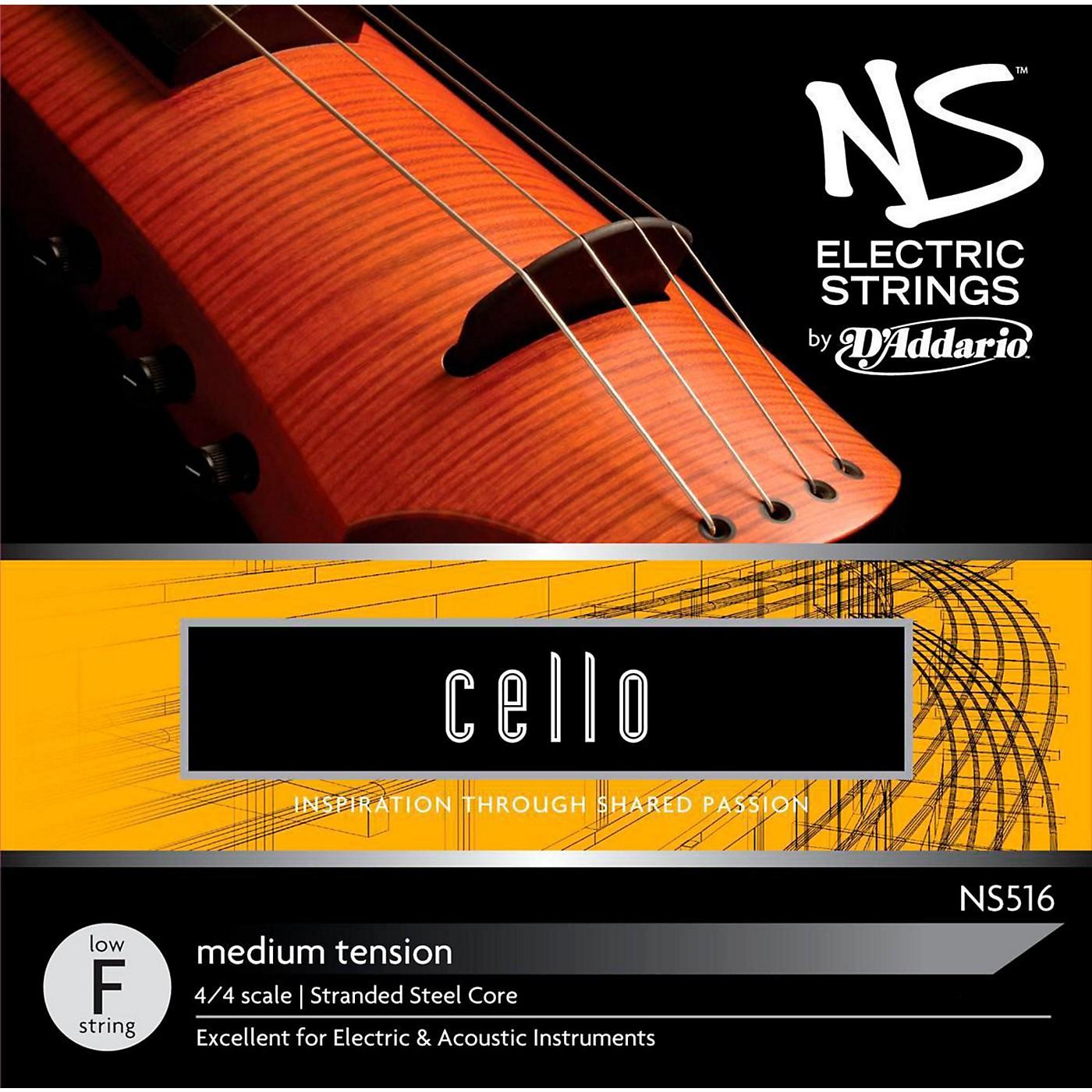 D'Addario NS Electric Cello Low F String thumbnail