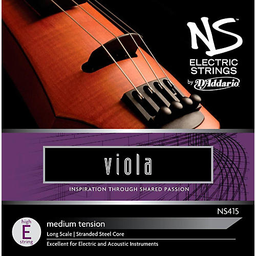 D'Addario NS Electric Viola High E String thumbnail