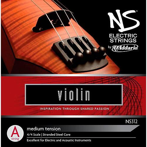D'Addario NS Electric Violin A String thumbnail