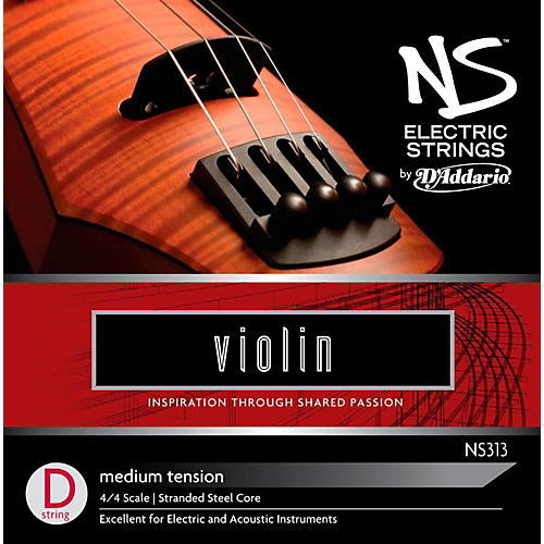 D'Addario NS Electric Violin D String thumbnail