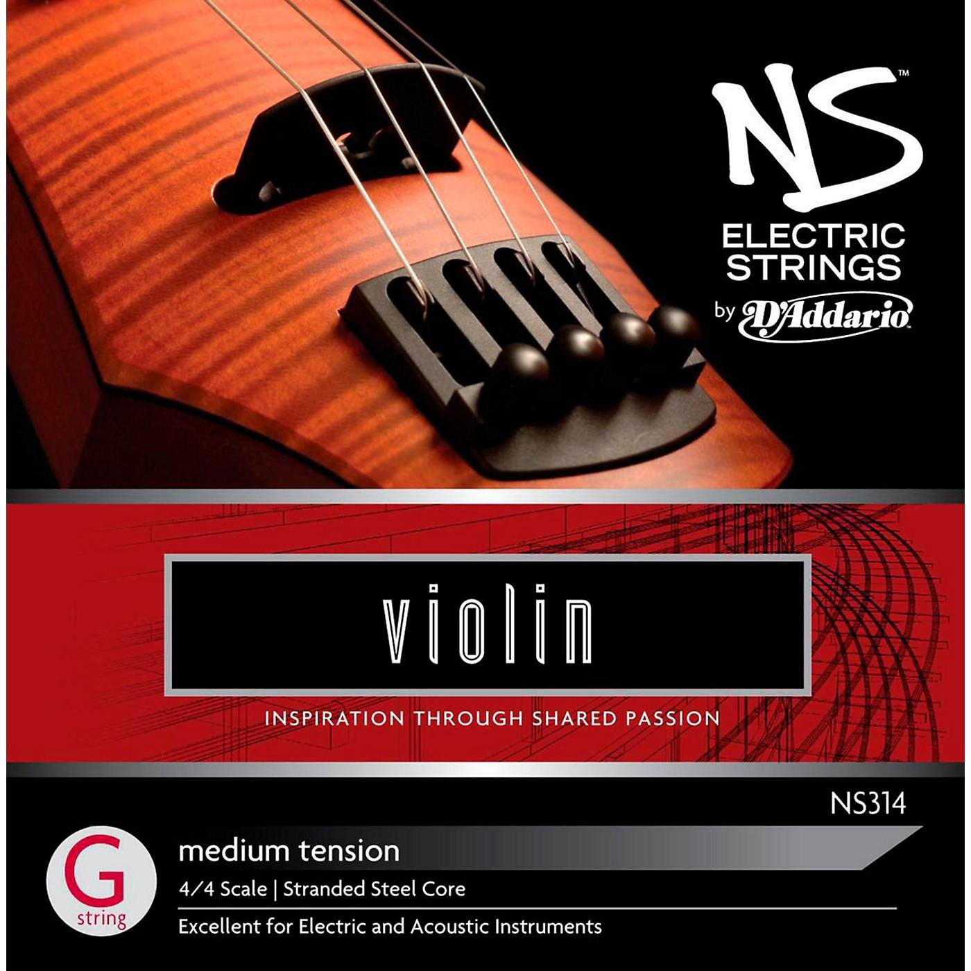 D'Addario NS Electric Violin G String thumbnail