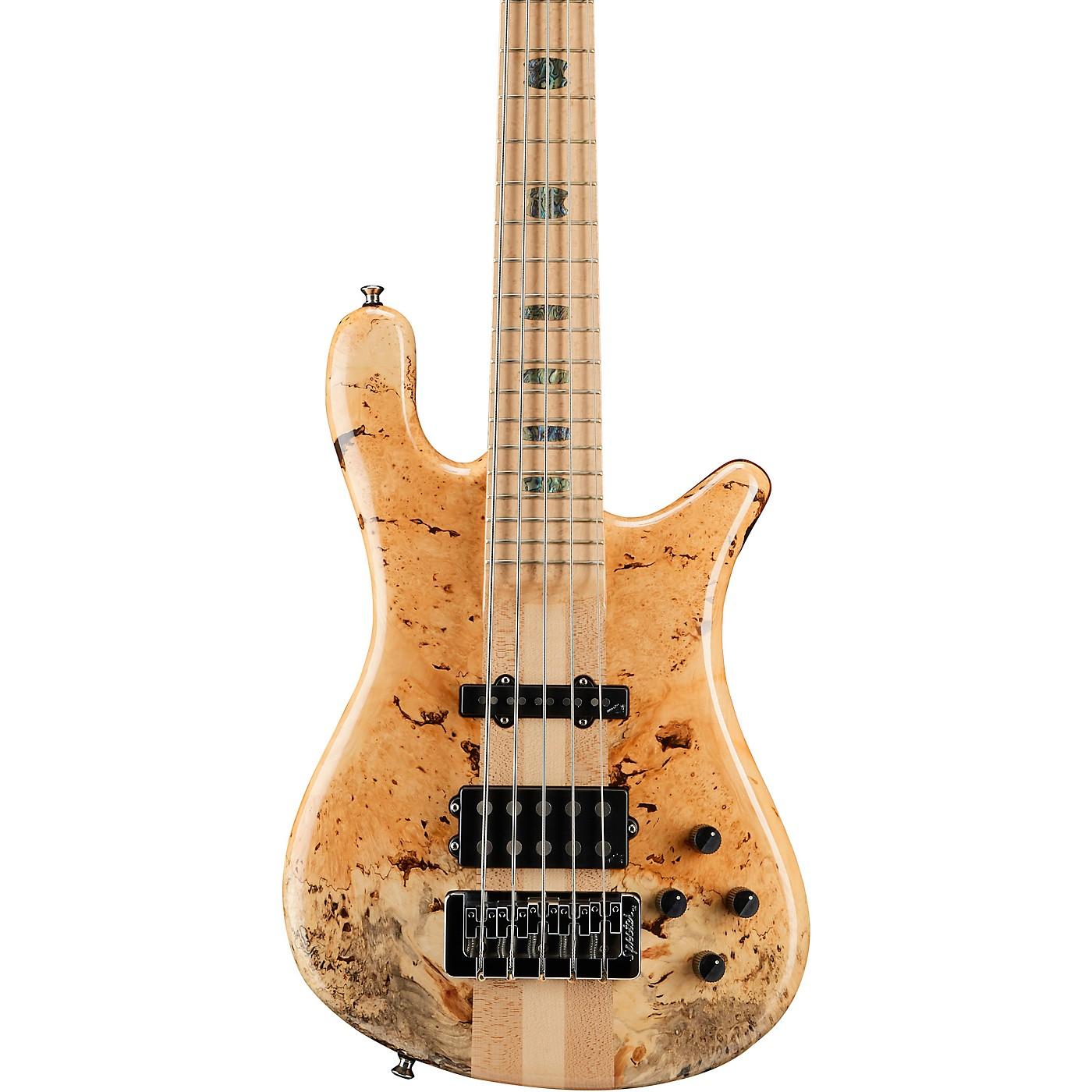 Spector NS5 Box Elder Maple Top 5-String Electric Bass thumbnail
