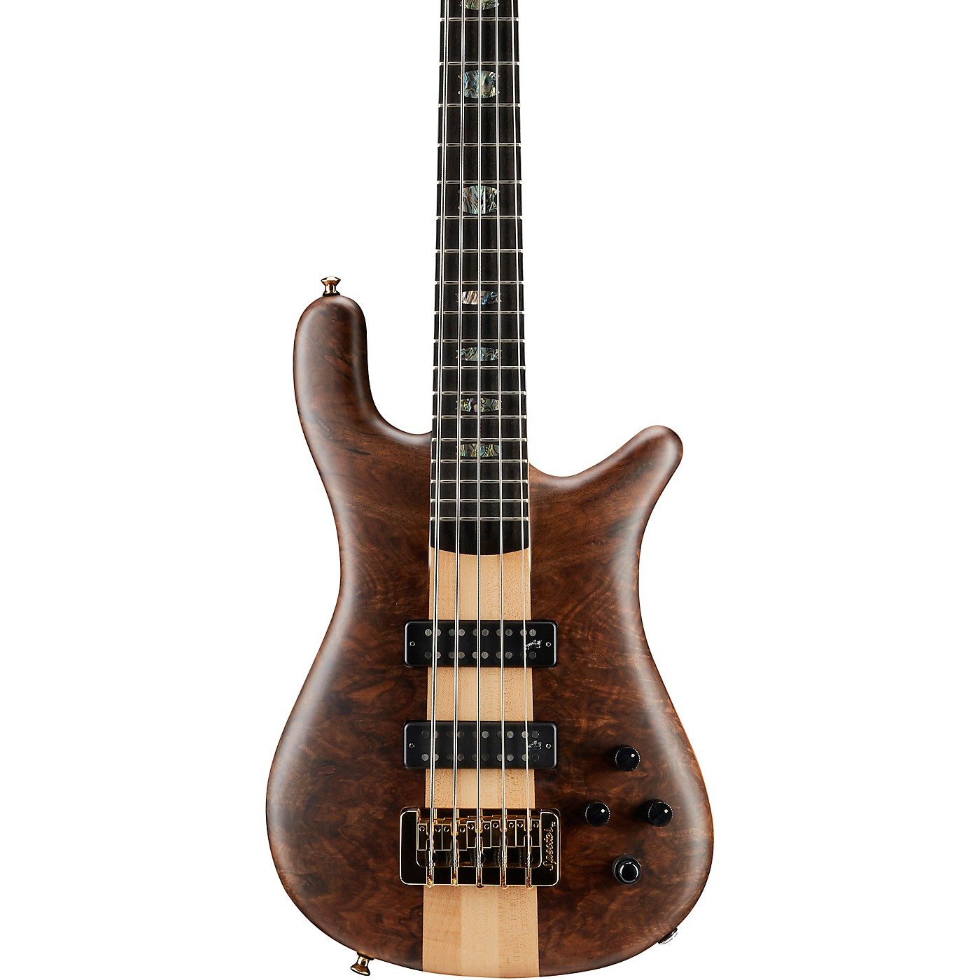 Spector NS5 Walnut Top 5-String Electric Bass thumbnail