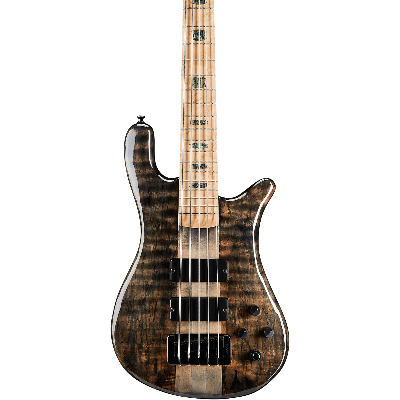 Spector NS5XL Spalted Maple Top 5-String Electric Bass thumbnail