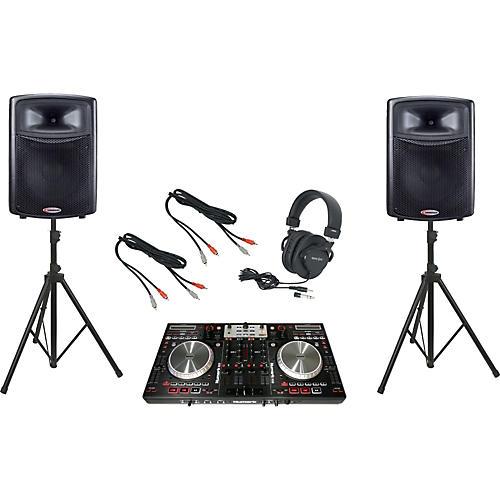 Numark NS6 / Harbinger APS15 DJ Package thumbnail