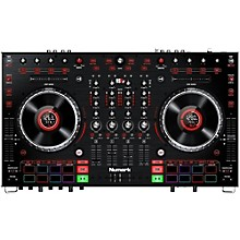 Numark NS6II Premium 4-Channel Serato DJ Controller with Dual USB and HD Color Displays