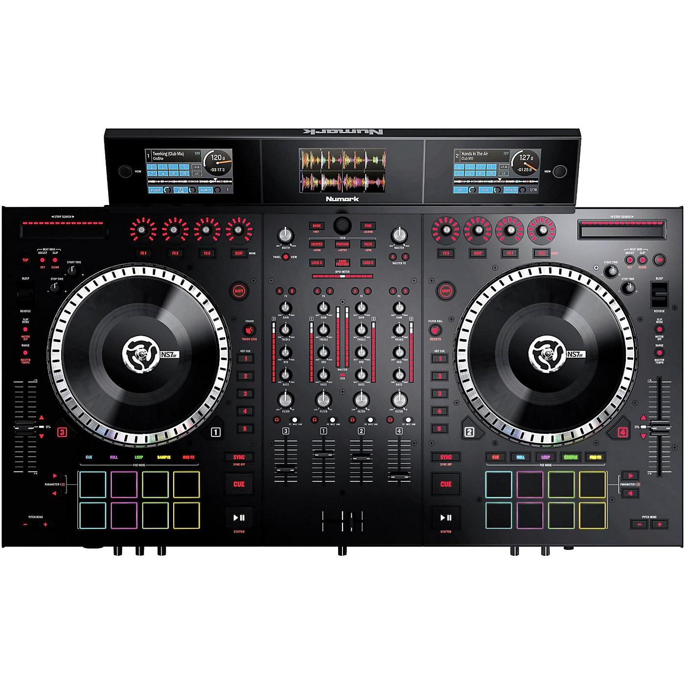 Numark NS7III 4-Channel DJ Performance Controller thumbnail