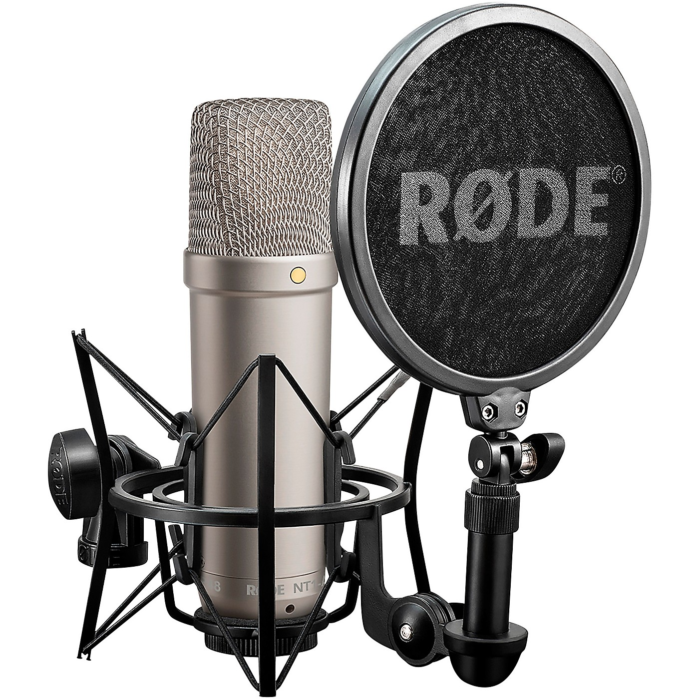 Rode NT1-A Cardioid Condenser Microphone Bundle thumbnail