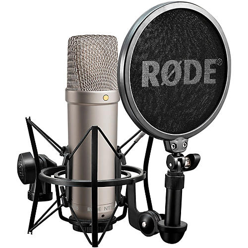 Rode Microphones NT1-A Cardioid Condenser Microphone Bundle thumbnail