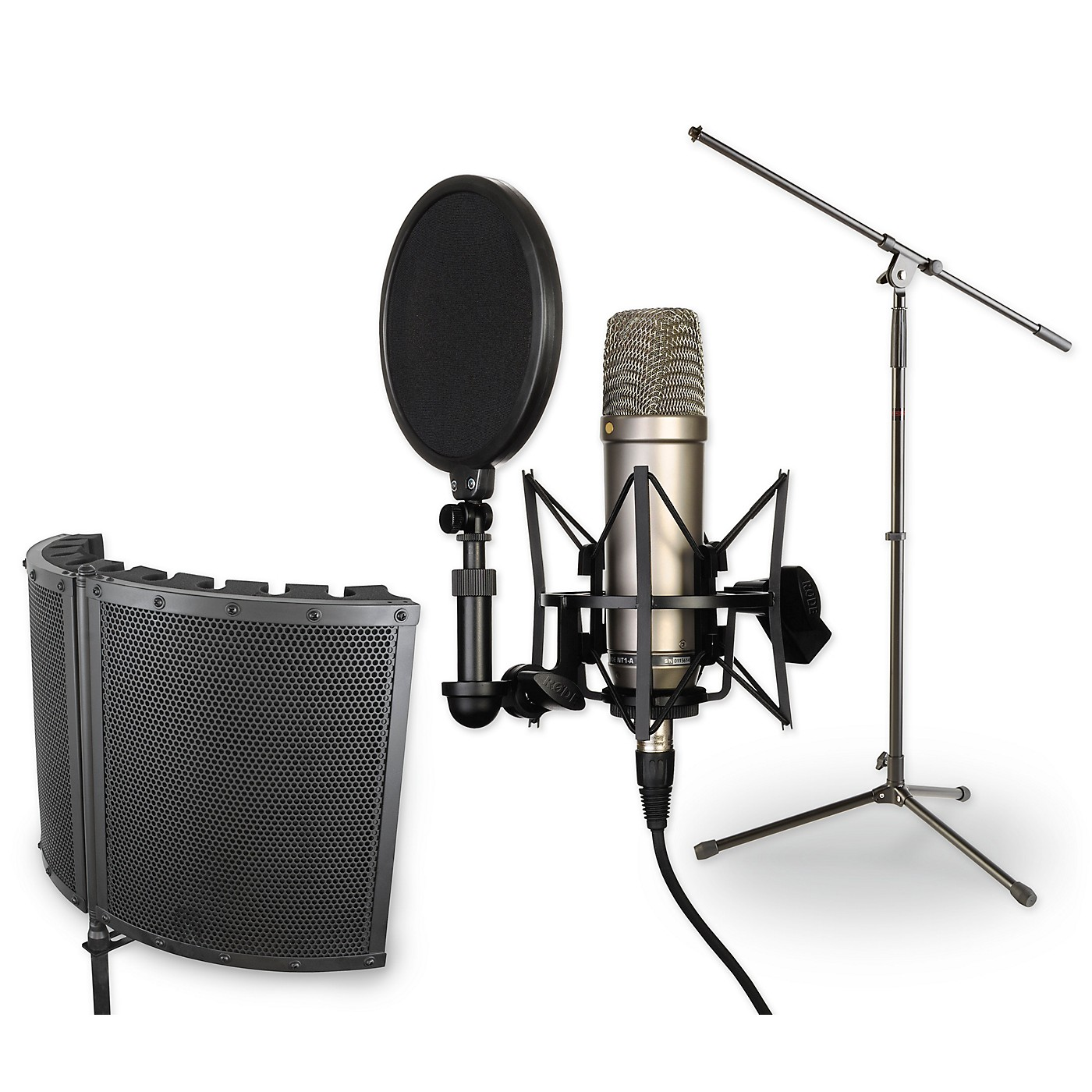 Rode NT1-A VS1 Stand Pop Filter and Cable Kit thumbnail